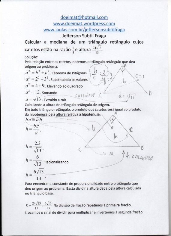 Triângulo Mediana001